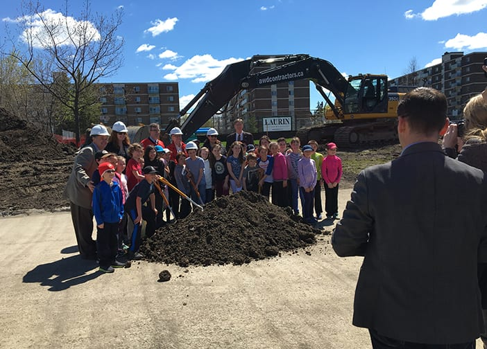Canterbury Covered Rink – Construction begins